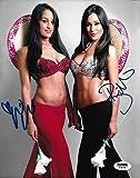 Nikki Brie The Bella Twins Signed WWE 8x10 Photo COA Total Divas Auto 10 - PSA/DNA Certified - Autographed Wrestling Photos
