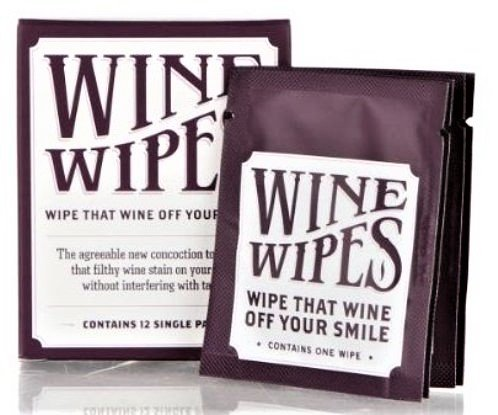 (Wine Wipes, 3 boxes of 12 individually wrapped wipes (36 individual wipes total))