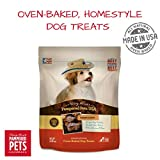 Cheap Pampered Pets USA Made in USA – Oven-baked Dog Treats, Soft and Delicious, Choose Peanut Butter, Cheddar Cheese & Bacon, Roast Turkey & Sweet Potato, Cowboy Classic, or Pumpkin (Cowboy Classic, 5 lb)