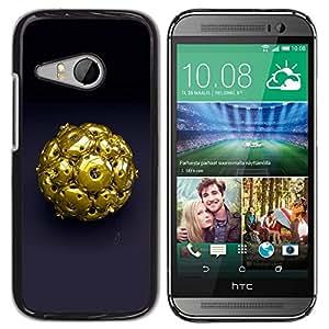 """For HTC ONE MINI 2 / M8 MINI , S-type Resumen de Oro"""" - Arte & diseño plástico duro Fundas Cover Cubre Hard Case Cover"""