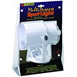 Satco Products SF77/395 Multi-Purpose Portable Spot Light, White by Satco