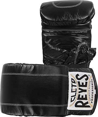 Cleto Reyes Leather Boxing Bag Gloves – Black