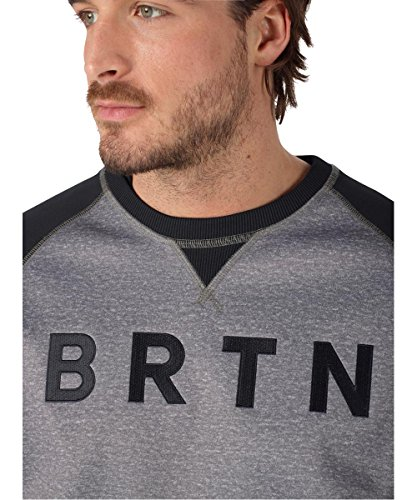 Burton Monument Crew Burton Bonded Heather Crew Monument Bonded Heather qtTOYB