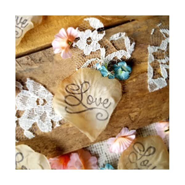 Table-scatter-blush-and-teal-flowers-with-lace-wedding-confetti-Flower-Girl-throw-DIY-wedding-tossing-petals-bridal-shower-confetti