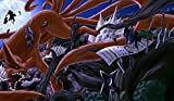 Naruto First Hokage VS Madara Playmat