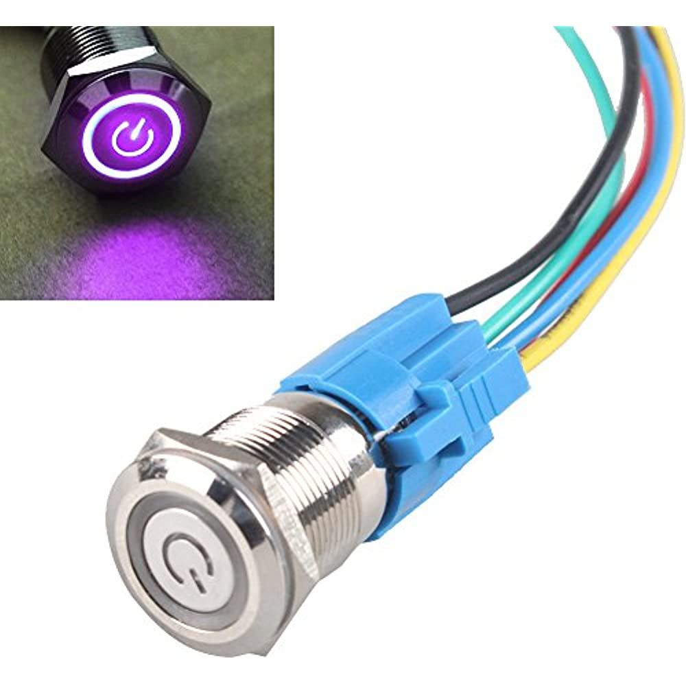 Socket Plug for 19mm Toggle Switch ON//OFF Buttons 6Pin Wire Harness Sales