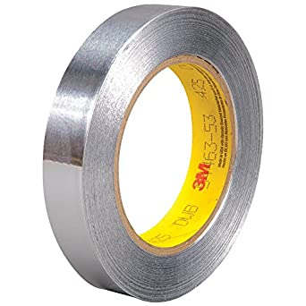Pack of 1 Free Ship 3M Foil Tape 3381 Silver 1.88 in x 50 yd 2.7 mil New