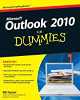 Outlook 2010 For Dummies Front Cover