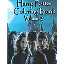 Harry Potter Coloring Book Volume 2: Harry Potter Magical Creatures Coloring Book