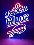 Urby™ 24''x20'' Labatt Blue Buffalo Neon Light Sign Beer Bar Handicraft SP78