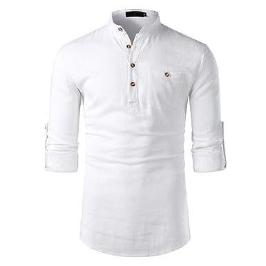 Camisas Hombre Flores 2019 Moda Playa de Verano Impresión Boho ...