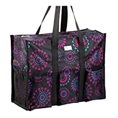 Feeling Organized & Looking Stylish!              The Pursetti multi-pocket utility bag has all the spaces you'll need to keep everything neat and accessible. See images above. The stylish tote bag offers 8 exterior and 5 ...