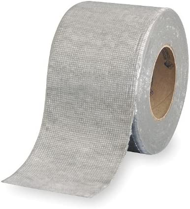 """6/"""" x 50/' 35 Mil BLACK Flashing and Cover repair tape"""