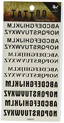 SPESTYLE different Typeface temporary stickers product image