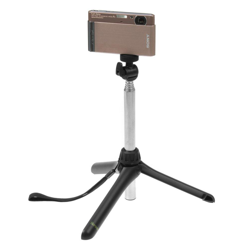 BIRUGEAR Monopod Selfie Handheld Extendable Stick Pole for Canon ELPH 350 HS (IXUS 275 HS), ELPH 170 IS (IXUS 170), ELPH 160 (IXUS 160), SX710 HS, SX610 HS, N2, SX700 HS, SX600 HS, SX280 HS, SX260 HS, SX170 IS, SX160 IS, SX150 Cameras