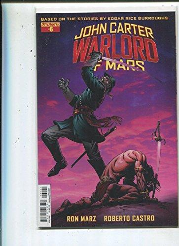 John Carter-Warlord Of Mars #6 Near Mint Dynamite Comics