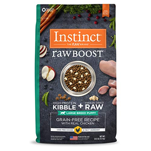 Instinct Raw Boost Large Breed Puppy Grain Free...
