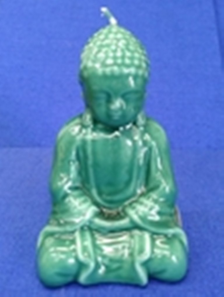 Biedermann & Sons Jade Buddha Candle, Green by Biedermann & Sons