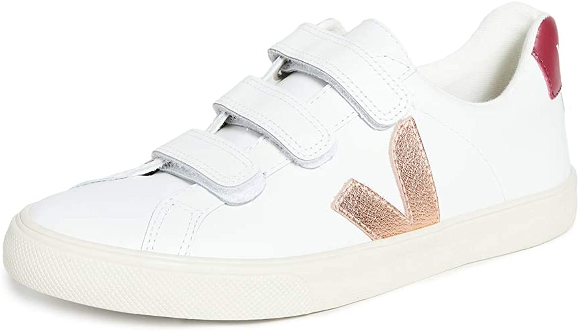 Fantasía Legibilidad reembolso  Amazon.com: Veja 3 Lock Zapatillas para mujer, Blanco, 10: Shoes