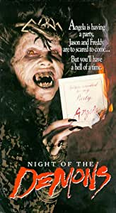 Amazon.com: Night of the Demons [VHS]: Cathy Podewell ...