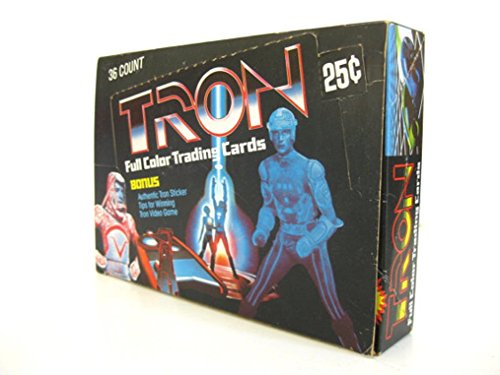 1982 Vintage Box of Tron Trading Cards/Sealed Wax Packs/Display Box by Jared Swart Artwork & Apparel