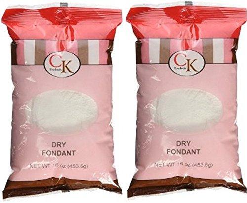 Fondant Sugar - CK Products Dry Candy Fondant 1 Lb. (Pack of 2)