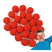 LefRight(TM) 50pcs Foam Red Clown Nose Circus Wedding Party Halloween Carnival Costume Activity