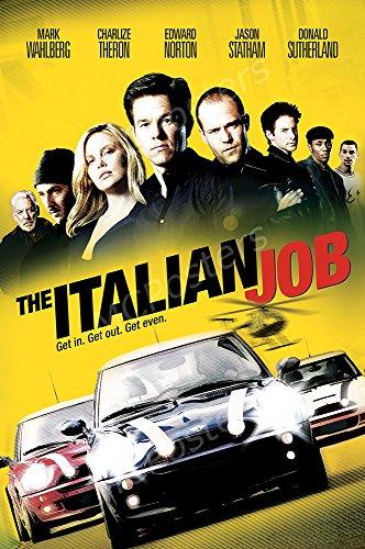 MCPosters The Italian Job GLOSSY FINISH Movie Poster - MCP474 (16