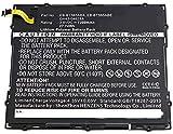 Synergy Digital Battery Compatible with Samsung SM-T585M Tablet Battery (Li-Pol, 3.8V, 7300 mAh) - Repl. Samsung EB-BT585ABA Battery