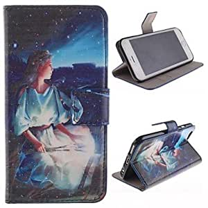 iPhone 6 Case, WBowen The Twelve Constellation Sagittarius Design PU Full Body Case with Stand with Card Slot for iPhone 6 Plus