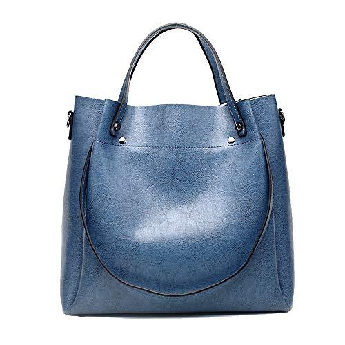 (Cawmixy Hobo Bags Women Handbags Satchel Soft Shoulder Bags Classic Tote Fashion Ladies Purses Designer Woman Bags (Denim Blue))