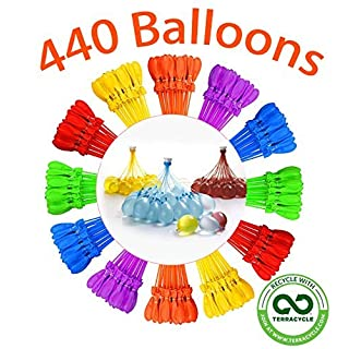 LPPKERY Water Balloons for Boys Girls and Adults Party Pool with Rapid-Filling Balloon Latex Instant Water Bomb Fight Games Summer Splash Fun Kids Outdoor Backyard a6