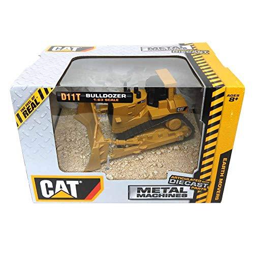 Metal Machines Caterpillar Bulldozer 1:63 Scale CAT39522 Cat D11T Earth Movers