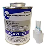 Weld-On 4 Acrylic Adhesive - Pint and 3 Pack of