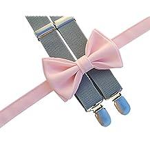 Suspenders Bow Tie Set
