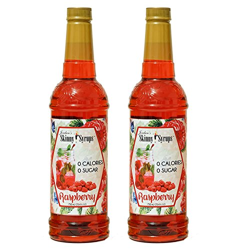 Jordan's Skinny Syrups Sugar Free Raspberry, 25.4 Ounce (2 Pack) (Drink Raspberry Vodka)