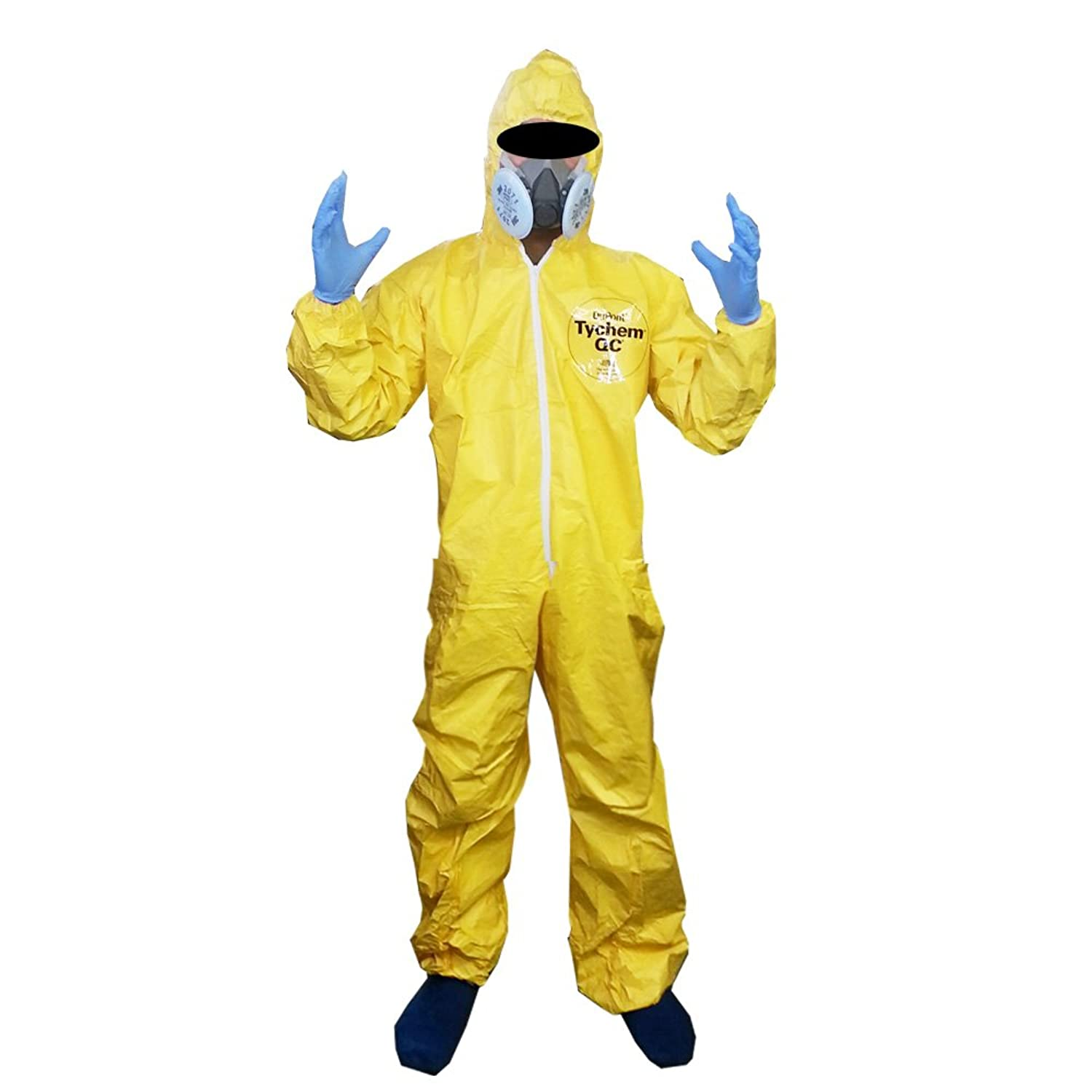 amazoncom breaking bad halloween costume with half mask and gloves clothing - Halloween Costume Breaking Bad