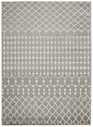 Bergen Home Décor UNQ8997-8X10 Contemporary Traditional Moroccan Trellis Design, 7'10