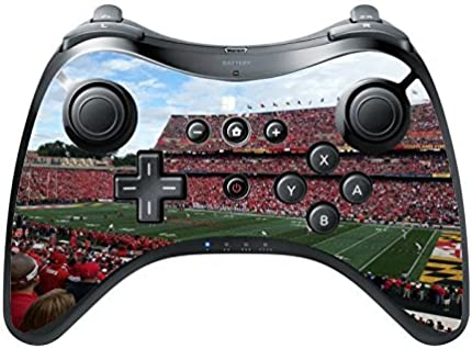 College Football Stadiums Wii U Pro Controller Vinyl Decal Sticker Skin by Compass Litho by Compass Litho