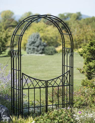 Garden Arch And Gate - WUJIANG KAILIAN OUTSIDE FURNITURE Essex Arch with Gate
