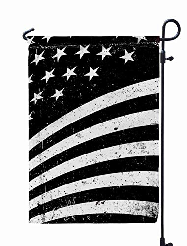 Shorping Welcome Garden Flag, 12x18Inch Grunge United States of America Flag Abstract American Patriotic backgro for Summner,Spring Yard Décor Beautiful