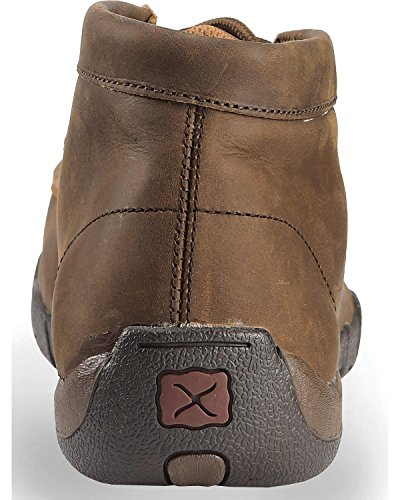 Mocs Men's Saddle Mdm0033 Driving X Checkerboard Twisted Distressed PaIAqCwn5