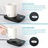 Misby Mug Warmer for Desk with Auto Shut