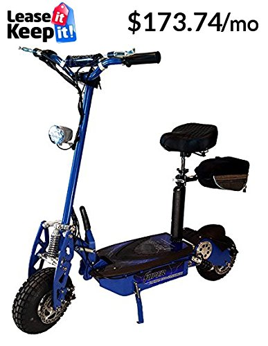 Amazon com : Super Turbo 1000w Elite Electric Scooter (Green