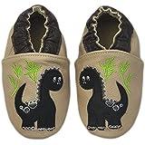 Rose & Chocolat Chaussures Bébé Baby Dino beige