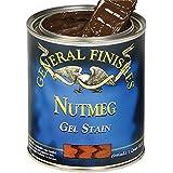 General Finishes Oil Based Gel Stain (Gallon, Nutmeg)