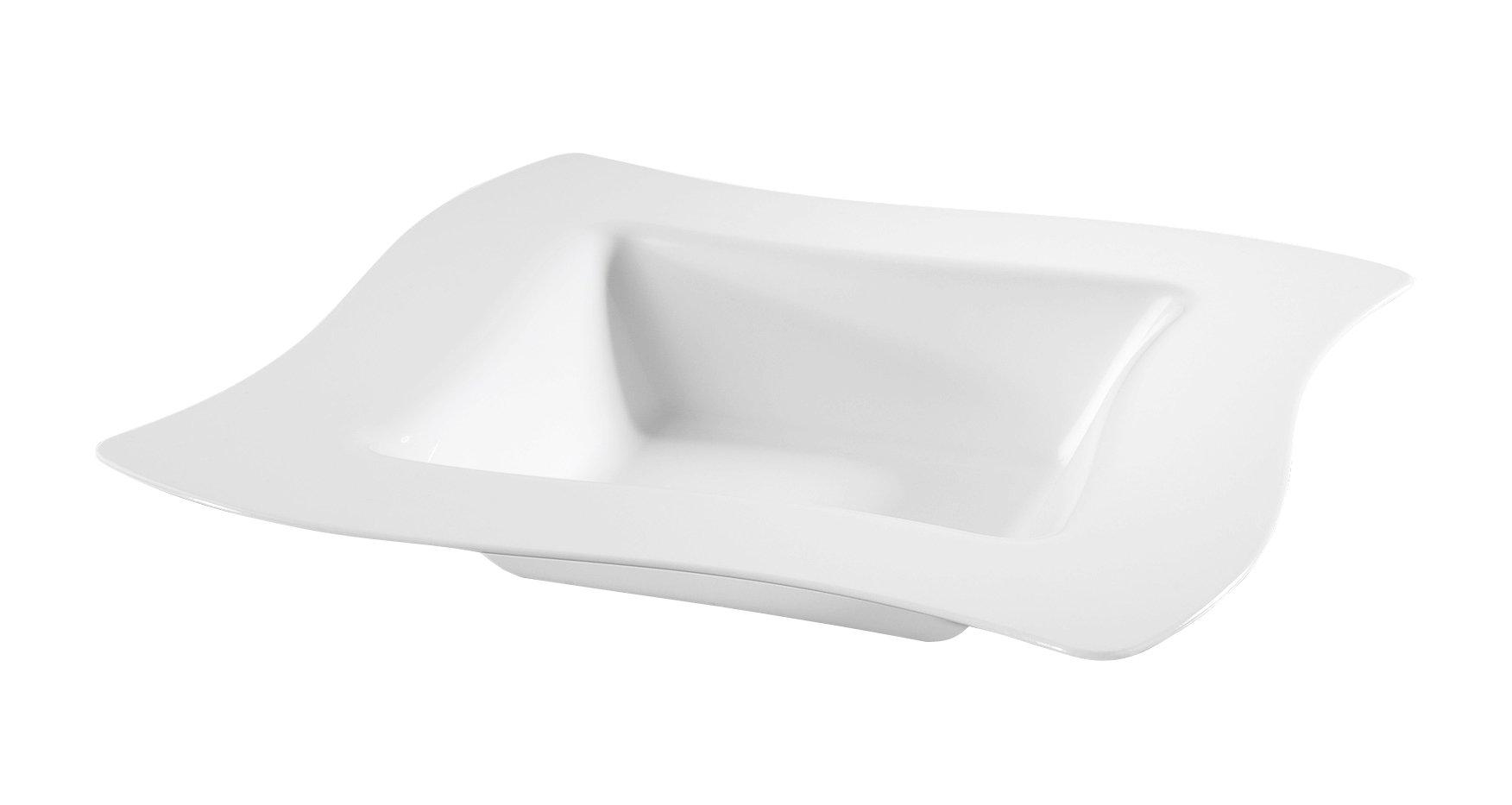 Fineline Wave trends 12 oz Bowl (Case of 120) (10 x 12), White