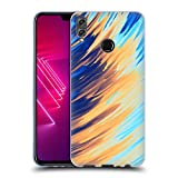 Official Andi Greyscale Two Sides of One Extreme Abstract Marbling Soft Gel Case Compatible for Huawei Honor 8X / View 10 Lite