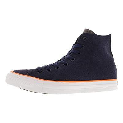 Converse Unisex Chuck Taylor All Star Hi Top Navy Sneaker - 12 B(M) US / 10 D(M) US