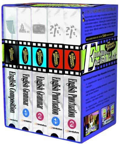 Standard Deviants: Enormous English Pack [VHS]